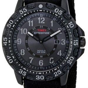 Timex Expedition T49997 Kello Musta / Nahka