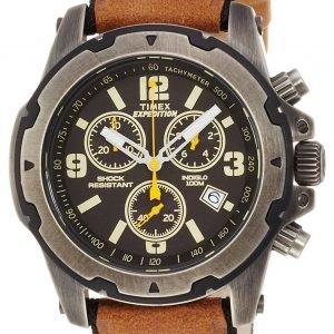 Timex Expedition Tw4b01500 Kello Musta / Nahka