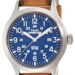 Timex Expedition Tw4b01800 Kello Sininen / Nahka