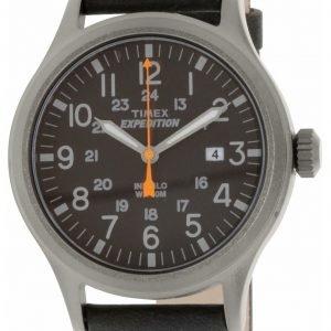 Timex Expedition Tw4b01900 Kello Musta / Nahka