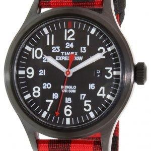 Timex Expedition Tw4b02000 Kello Musta / Tekstiili