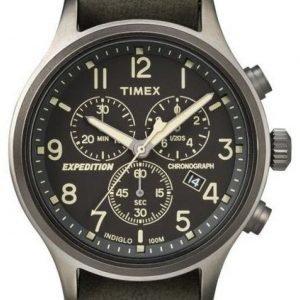 Timex Expedition Tw4b04100 Kello Musta / Teräs