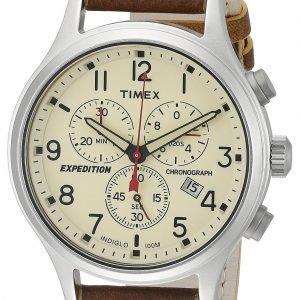 Timex Expedition Tw4b04300 Kello Beige / Nahka