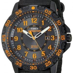 Timex Expedition Tw4b05200 Kello Musta / Tekstiili