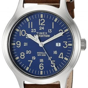 Timex Expedition Tw4b06400 Kello Sininen / Nahka