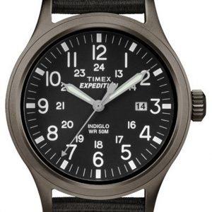 Timex Expedition Tw4b06900 Kello Musta / Nahka