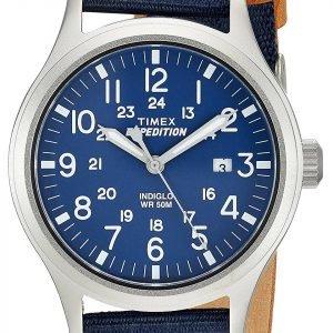 Timex Expedition Tw4b07000 Kello Sininen / Nahka