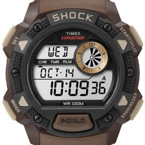 Timex Expedition Tw4b07500 Kello Lcd / Muovi
