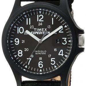 Timex Expedition Tw4b08100 Kello Musta / Tekstiili