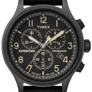 Timex Expedition Tw4b09100 Kello Musta / Nahka