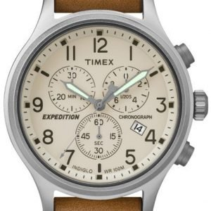 Timex Expedition Tw4b09200 Kello Beige / Nahka
