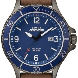 Timex Expedition Tw4b10700 Kello Sininen / Nahka