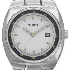 Timex Fashion T2g791 Kello Valkoinen / Teräs