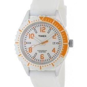 Timex Fashion T2p007 Kello Valkoinen / Kumi