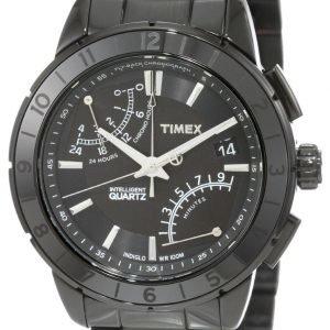 Timex Intelligent T2n500 Kello Musta / Teräs