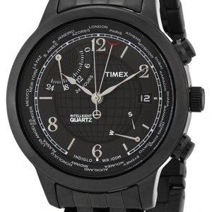 Timex Intelligent T2n614 Kello Musta / Teräs