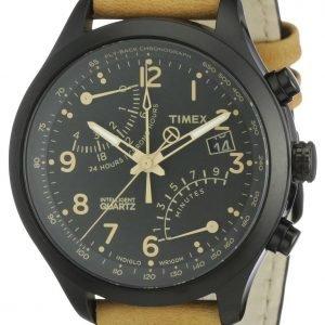 Timex Intelligent T2n700d7 Kello Musta / Nahka