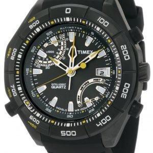 Timex Intelligent T2n729 Kello Musta / Kumi