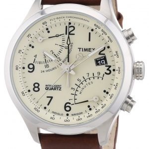 Timex Intelligent T2n932 Kello Samppanja / Nahka