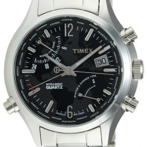 Timex Intelligent T2n944 Kello Musta / Teräs