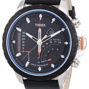 Timex Intelligent T2p274 Kello Musta / Nahka