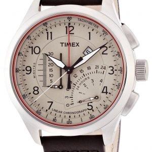 Timex Intelligent T2p275 Kello Beige / Nahka