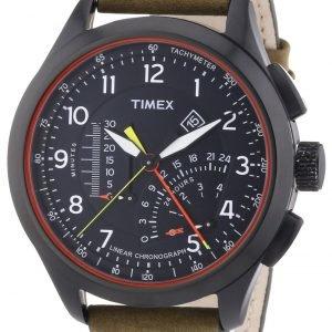 Timex Intelligent T2p276 Kello Musta / Nahka