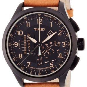 Timex Intelligent T2p277 Kello Musta / Nahka