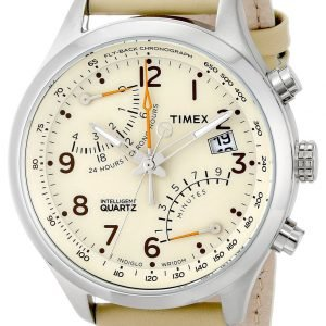 Timex Intelligent T2p382 Kello Beige / Nahka