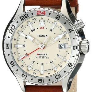 Timex Intelligent T2p426dh Kello Samppanja / Nahka