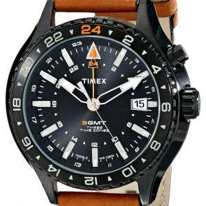 Timex Intelligent T2p427dh Kello Musta / Nahka