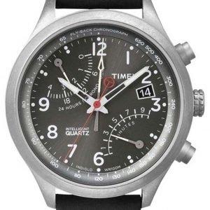 Timex Intelligent T2p509 Kello Harmaa / Nahka