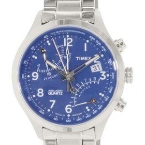 Timex Intelligent Tw2p60600 Kello Sininen / Teräs