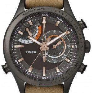 Timex Intelligent Tw2p72500 Kello Musta / Nahka