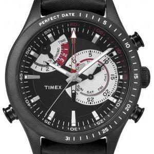 Timex Intelligent Tw2p72600 Kello Musta / Nahka