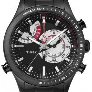 Timex Intelligent Tw2p72800 Kello Musta / Teräs