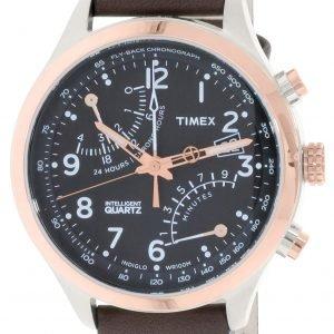 Timex Intelligent Tw2p73400 Kello Musta / Nahka