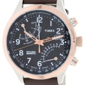 Timex Intelligent Tw2p73400dh Kello Musta / Nahka