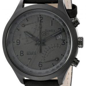 Timex Intelligent Tw2p79000dh Kello Musta / Nahka
