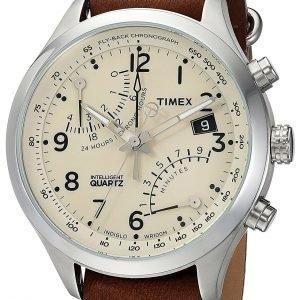 Timex Intelligent Tw2r55100 Kello Kerma / Nahka