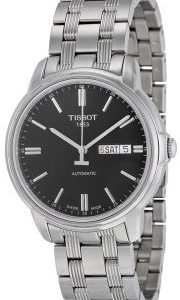 Tissot Automatics Iii T065.430.11.051.00 Kello Musta / Teräs
