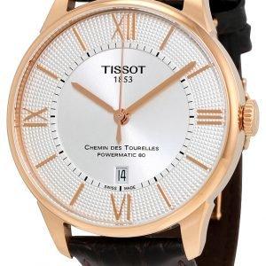 Tissot Chemin Des Tourelles Automatic Gent Cosc T099.408.36.038.00 Kello