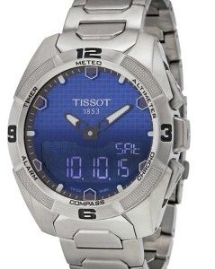 Tissot Desire T091.420.44.041.00 Kello Sininen / Titaani