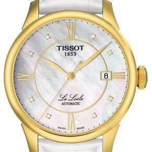 Tissot Le Locle Automatic Gent T41.5.453.86 Kello Valkoinen / Nahka