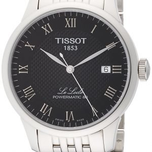 Tissot Le Locle T006.407.11.053.00 Kello Musta / Teräs