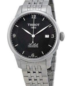 Tissot Le Locle T006.408.11.057.00 Kello Musta / Teräs