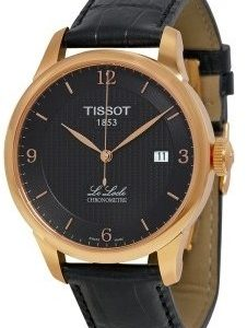 Tissot Le Locle T006.408.36.057.00 Kello Musta / Nahka