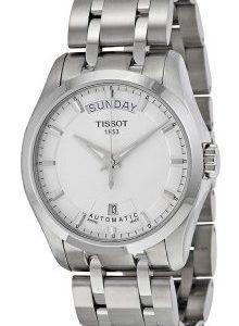 Tissot Luxury T035.407.11.031.00 Kello Hopea / Teräs