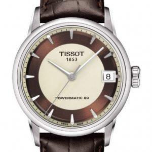 Tissot Luxury T086.207.16.261.00 Kello Monivärinen / Nahka