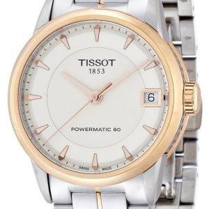 Tissot Luxury T086.207.22.261.01 Kello Beige / Teräs